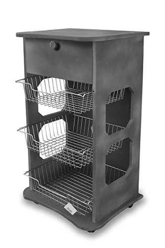 Mehrzweck-Küchenwagen Maßnahmen 40x 45Höhe 85cm Industrial Grey