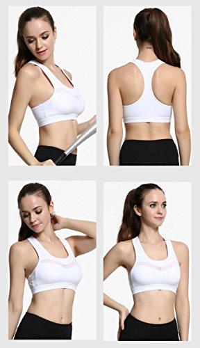 Della Donna Reggiseno / Shock / Sport Sportswear , blue , s WHITE-S