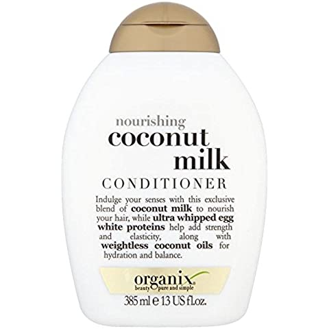 Organix Acondicionador De Leche De Coco Nutritiva (385ml) (Paquete de 6)