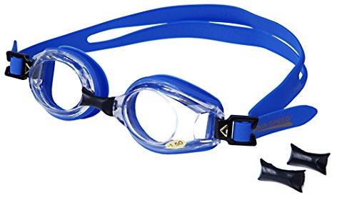 AQUA-SPEED - Optische Herren Schwimmbrille Mit Sehstärke, Blau 1, -5,5