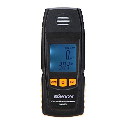 KKmoon GM8805 Détecteur de Monoxyde de Carbone CO Gaz Délétère, 0-1000 ppm Haute Précision