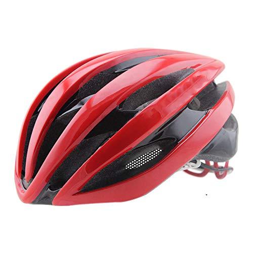 ZMMHW Fahrradhelm, Mountainbike Fahrradhelm 19 Vents Verstellbarer, komfortabler Schutzhelm für Outdoor Sport Riding Bike,B -