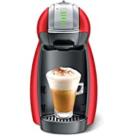 Nescafe Dolce Gusto Genio2 Coffee Machine, Red, 1 Year Brand Warranty