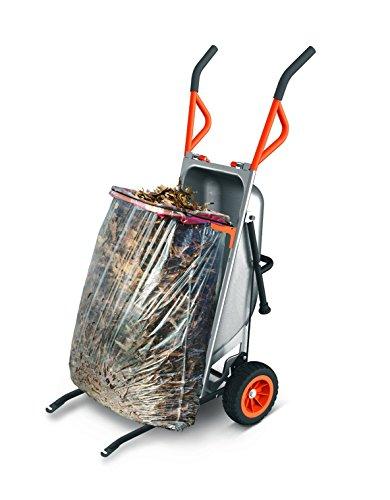WORX WG050 Aerocart Multifunktions-Schubkarre – 8-in-1 Funktion: Sackkarre mit Vollgummireifen, Gartenkarre, Tragehilfe, Müllbeutelhalter uvm. - 4