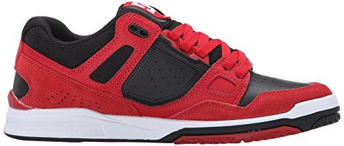 DC Stag 2 chaussures pour hommes rouge/noir
