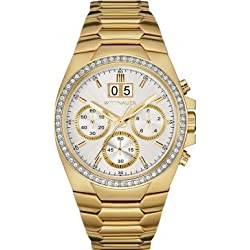 Wittnauer WN3055 Mens Brody Gold Plated Chronograph Watch