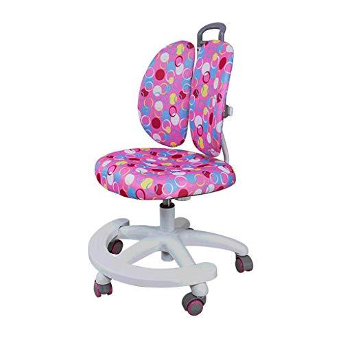 Zyy Kind Lernen Stuhl Aufwachsen Aufzug Multifunktion Verhindern Buckel Korrektur Doppelte Rückenlehne Studentenstuhl Zum 100 * 180cm Kind (Farbe : Rosa) -