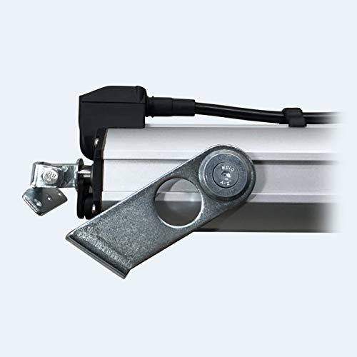 Spindelantrieb, Fensterantrieb, Motoröffner für Oberlichter 230V / 300mm Hub, 500Nm, mit Halterungen - Mingardi D8