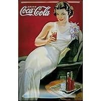Coca-Cola Bears Picnic Blechschild Schild Blech Metall - Placa metálica (20 x 30