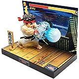 Street Fighter Estatua PVC con sonido & LED Ryu 17 cm