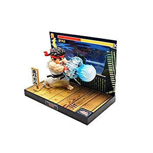 Street Fighter Estatua PVC con sonido & LED Ryu 17 cm 9