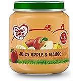 Vache Et Porte Étape 1 Pot Pomme Juteuse Et De Mangue 125G - Paquet de 4