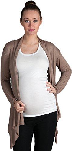 Mija – Cardigan pour les Femmes et de maternité Bolero 2007 Beige