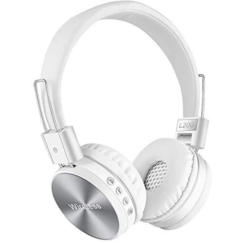 AndThere Bluetooth Cuffie Senza Fili Over Ear Cuffie con Microfono Riduzione del Rumore Stereo Cuffie On Ear Cuffia Wireless...