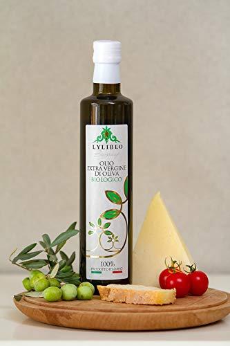 Olio Extra Vergine di Oliva Biologico Fruttato Intenso 500ml 100% Italiano