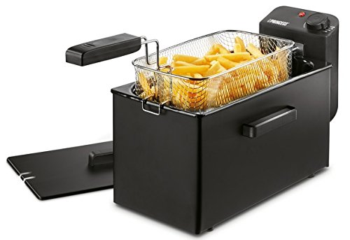 Freidora Princess 182727 Deep Fat Fryer negra - Zona fría - Filtro...
