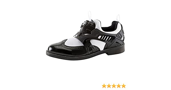12ef49ae8101 Puma By Mihara Yasuhiro MY-72 Patent Men s Hybrid Disc Sneakers Shoes  (356458 01) (Black White) (UK 9   EU 43   US 10)  Amazon.co.uk  Sports    Outdoors