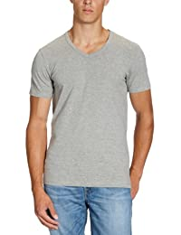 JACK & JONES Herren T-Shirt Basic V-Neck Tee S/S Noos