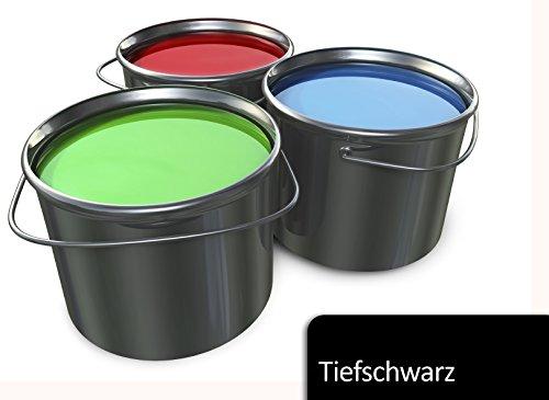 5L Bodenfarbe in Schwarz für Halle, Keller, Balkon TÜV-GEPRÜFT Betonfarbe Estrichfarbe Zementfarbe Farbe