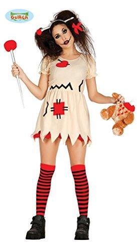 Imagen de disfraz de muñeca vudu trapo terror