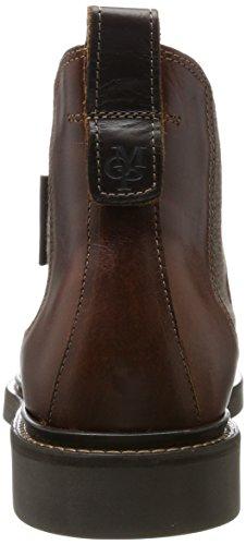 Marc O'Polo Herren Flat Heel Chelsea 70824105001108 Boots Braun (Brandy)