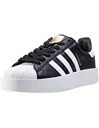 adidas SUPERSTAR BOLD W - Zapatillas deportivas para Mujer, Negro - (NEGBAS/FTWBLA/DORMET) 36 2/3