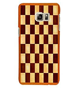 ColourCraft Chess Board Design Back Case Cover for SAMSUNG GALAXY S6 EDGE PLUS
