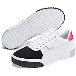 Puma Cali Remix Wn's, Baskets Femme, Blanc White Black 02, 38 EU