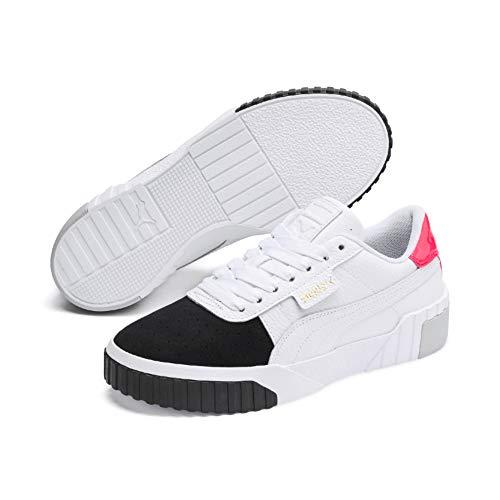 Puma Damen Cali Remix WN's' Sneaker, White Black 02, 39 EU