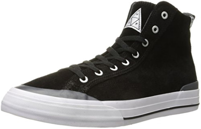 HUF - Zapatillas de skateboarding para hombre negro  -