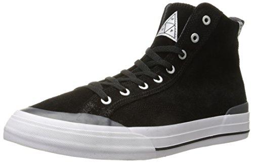 HUF Herren Sneaker Classic Hi Skateshoes Black