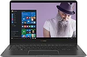 "Asus Zenbook Flip S UX370 C4292T Ultrabook hybride tactile 13,3"" Full HD Gris (Intel Core i5, 8 Go de RAM, SSD 256 Go, Windows 10) Clavier AZERTY français + Stylet + Mini Dock offerts"