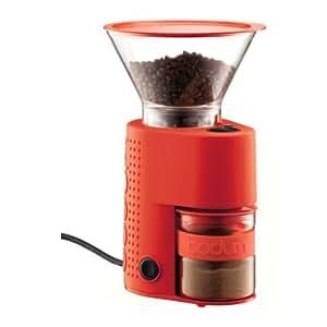 bodum 10903 294euro bistro elektrische kaffeem hle rot k che haushalt. Black Bedroom Furniture Sets. Home Design Ideas