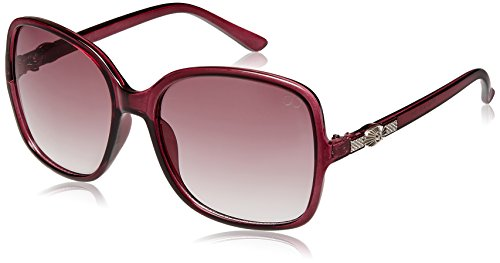 Gio Collection UV Protected Oversized Women Sunglasses - (P12319|70|Brown lens)