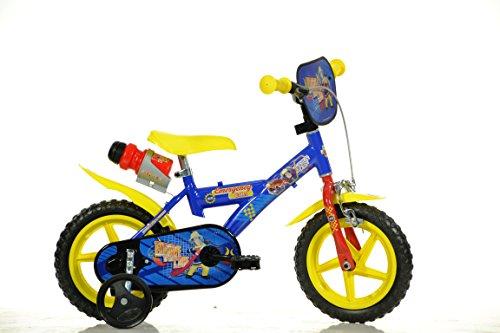 12 Zoll Kinderfahrrad Feuerwehrmann Sam Fireman Sam Kinderrad Fahrrad Spielrad Kinder-fahrrad