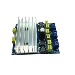 BlackEdragon Hochwertiger 50 W + 50 W / 100 W TDA7492 Digital Board-Leistungsverstärker