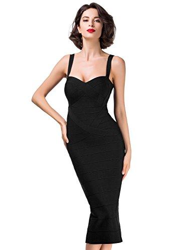 alice-elmer-womens-rayon-knee-bandage-bodycon-party-vestido-black-s