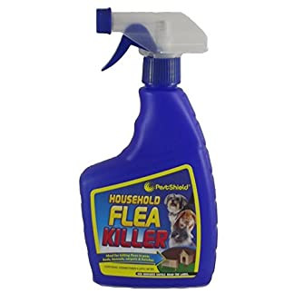 HOUSEHOLD FLEA KILLING SPRAY FOR DOG,BED,CAT CARPET FURNITURE (500ml)BED BY 151 (SINGLE) 419vJSzSILL