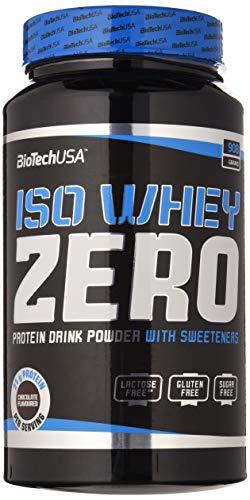 BioTech IsoWhey Zero Suplementos de Proteínas, Sabor Chocolate - 908 gr