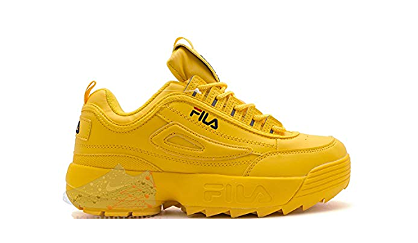 fila mustard yellow