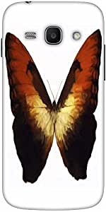 Snoogg Digital Painting Of A Butterfly Designer Protective Back Case Cover Fo...