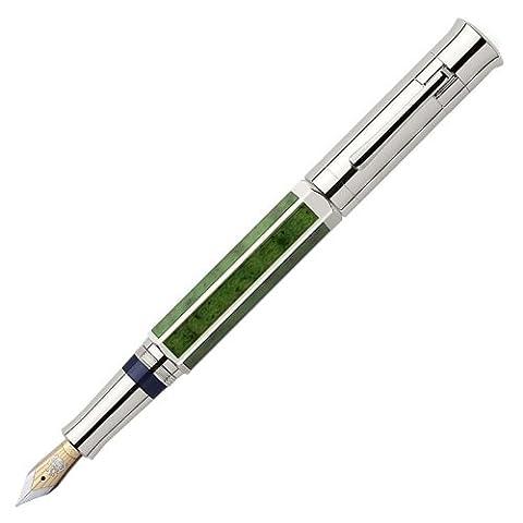 Graf von Faber-Castell Pen of the Year 2011 Jade, Feder:breit