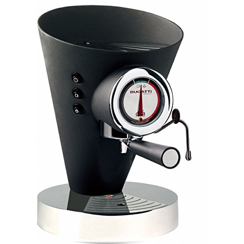 Casa Bugatti 15-EDIVAN Kaffeevollautomat Diva Evolution, schwarz