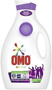 Omo Color Renkliler İçin Sıvı Çamaşır Deterjanı, 1950 Ml, 30 Yıkama