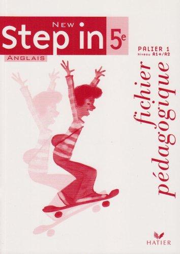 New Step in 5e : Palier 1 niveau A1 + / A2, fichier pédagogique