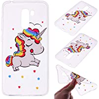 Shinyzone Xiaomi Pocophone F1 Hülle,Kristall Transparent [Silikon TPU] mit Cartoon Pferd Muster,[Stoßfest] Handyhülle... preisvergleich bei billige-tabletten.eu
