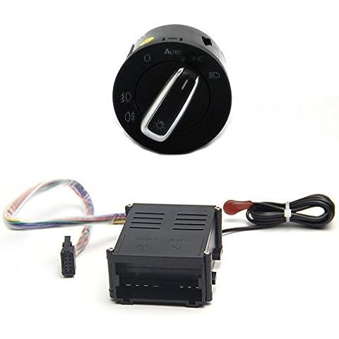 Auto Faro Cabeza Sensor de luz y interruptor para vw golf 4/New Bora/POLO/Lavida