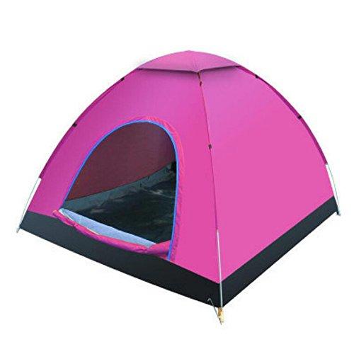 TZQ Im Freien Automatische Campingzelte,Pink