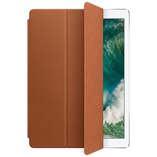 Apple Leather Smart Cover for 12.9 iPad Pro - Saddle Brown(MPV12ZM/A)