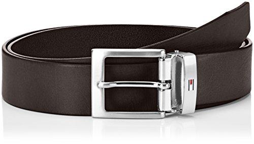 Tommy Hilfiger Adjustable Belt, Cintura Uomo, Marrone (Testa di Moro Eur 965), 100 (Taglia Produttore:100)